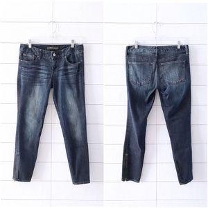 Express Stella Ankle Zip Legging Skinny Jeans